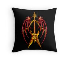 Heavy Metal Throw Pillow
