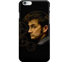 Tenth Doctor with Gallifreyan, Doctor Who iPhone Case/Skin