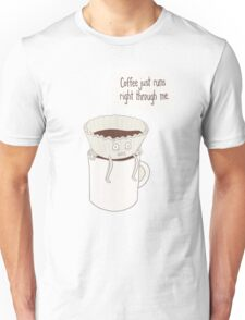 Coffee Filter Unisex T-Shirt