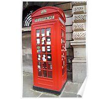 Sherlock Memorial Phonebox Poster