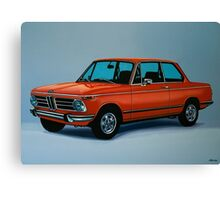 BMW 2002 Painting Canvas Print