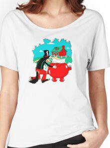 Big Bad Wolf & Kool Aid Man Women's Relaxed Fit T-Shirt