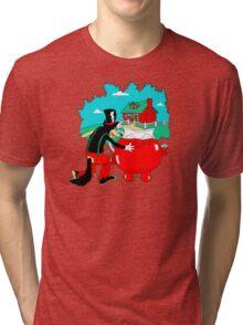 Big Bad Wolf & Kool Aid Man Tri-blend T-Shirt
