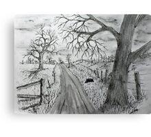 Memory Road Canvas Print