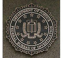 FBI Crest Photographic Print