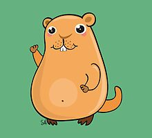 GroundHog Kawaii by silvianeto