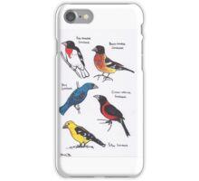 Grosbeaks iPhone Case/Skin