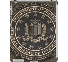 FBI Crest iPad Case/Skin