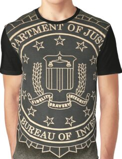 FBI Crest Graphic T-Shirt
