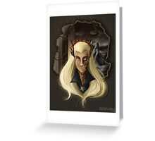 Thranduil-king of the woodland realm  Greeting Card
