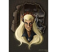 Thranduil-king of the woodland realm  Photographic Print