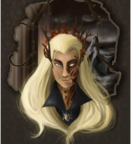 Thranduil-king of the woodland realm  Sticker
