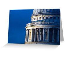 Dome of St Pauls Greeting Card