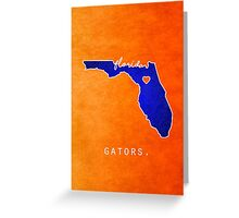 Florida Gators Greeting Card