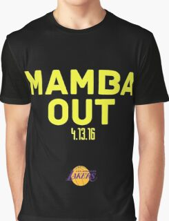 Mamba Out kobe bryant Graphic T-Shirt