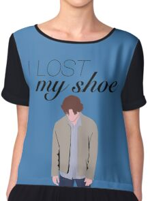 I Lost My Shoe  Chiffon Top