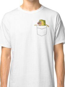Caveman Spongebob in a pocket Classic T-Shirt