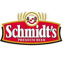 Schmidts Beer  Photographic Print