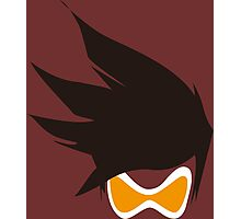 Tracer Hair and Goggles Vector Photographic Print