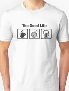 Funny Knitting T Shirt Unisex T-Shirt