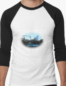 PITTSBURGH PA. AS SEEN FROM SOUTH SIDE Men's Baseball ¾ T-Shirt