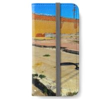 Vacant Lot - Brady, Texas iPhone Wallet/Case/Skin