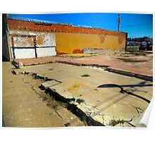 Vacant Lot - Brady, Texas Poster