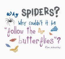 Spiders? why not Butterflies? by sfarmer788