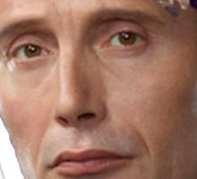 Hannibal Lecter Flower Crown Sticker