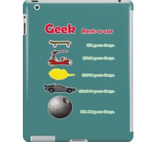Vehicles. Simpsons, flinstones, dragonball, back to the future and star wars. iPad Case/Skin