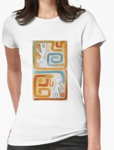 Maze Womens Fitted T-Shirt