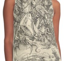 Albrecht Drurer - Saint Michael and the Dragon Contrast Tank