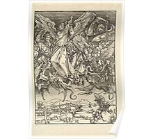 Albrecht Drurer - Saint Michael and the Dragon Poster
