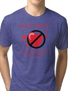 Heart Belongs To My Wife Tri-blend T-Shirt