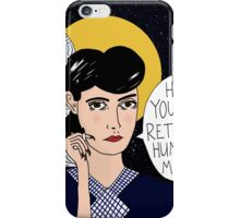 Replicant or Human? iPhone Case/Skin
