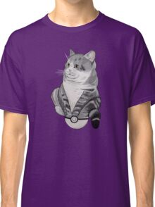 Fat Cat in a Pokeball Classic T-Shirt