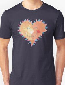 Love Heart Smiling Unisex T-Shirt