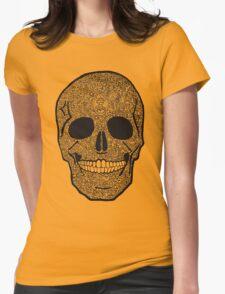 skullz Womens Fitted T-Shirt