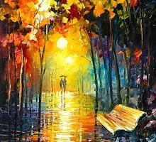 MISTY PARK by Leonid  Afremov