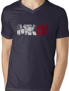 MKIV (white) Mens V-Neck T-Shirt