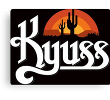 Kyuss Black Widow Stoner Rock Queens Of The Stone Age Clutch  Canvas Print