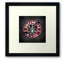 Greenvale Coffee (Deadly Premonition) Framed Print