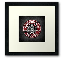 Greenvale Coffee (Deadly Premonition) Framed Print