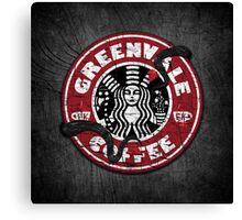 Greenvale Coffee (Deadly Premonition) Canvas Print