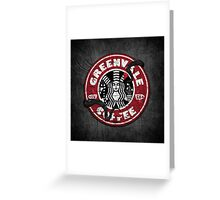 Greenvale Coffee (Deadly Premonition) Greeting Card