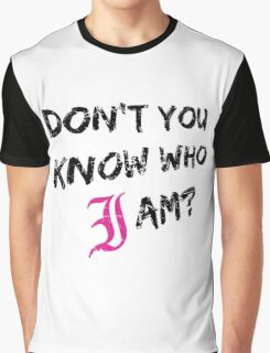 Every Time I Die - Don't You Know Who I Am? (Black) Graphic T-Shirt
