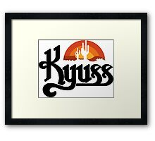 Kyuss Black Widow Stoner Rock Queens Of The Stone Age Clutch  Framed Print