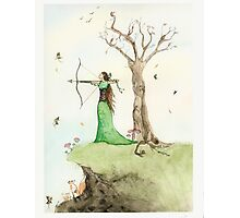 Elf Maiden Photographic Print