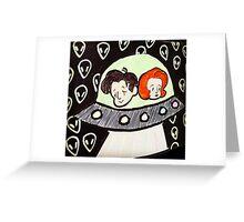 X-Files  Greeting Card