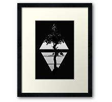 Air&Earth (AV) Tree Framed Print